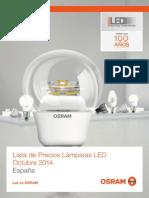 201410 OSRAM LISTA LAMPARAS LED 2015.pdf