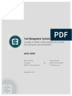 Understanding Yard Management White Paper