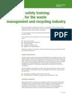 Safety Training Waste Management 21