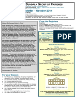 Dundalk Goup of Parishes Newsletter October 2014
