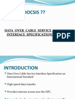 What is Docsis ??