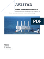Report for EnergiNet - May 2013