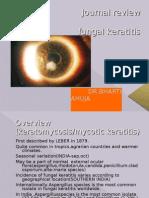 Fungal keratitis