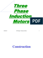 3 Phase Induction Machines 1(Construction)