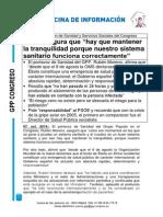 Nota de Prensa