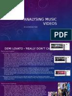 Analysing Music Videos