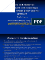 Ukraine and Moldova's Commitment to the European Reforms