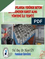 Betonda karot alinmasi ve Degerlendirilmesi.pdf