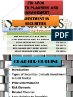Fin 4806 - Group 5 - Investment in Securities