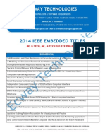 2014 Ieee Embedded Based Biomedical Project Titles