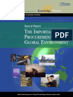 Bcg Procurement Report
