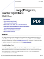 Abu Sayyaf Group (Philippines, Islamist Separatists) - Council on Foreign Relations