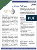 Av200 Powerline Ethernet Wall Mount Datasheet-Eng