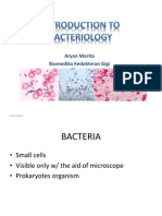 Introduction to Bacteriology