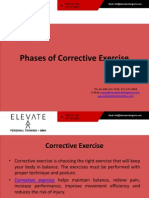 Phases of Corrective Exercise