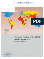 Wirtschaftliche Freiheit of the World - Jahresbericht 2014