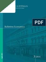 Bollettino Economico. 3-2014