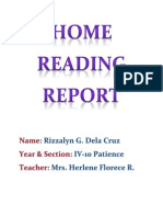 HOME READING REPORT.docx