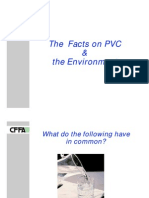 The Facts on PVC & Introduction the Environment