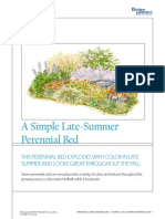 A Simple Late-Summer Perenial Bed