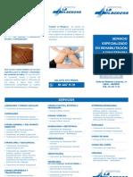Servicio Rehabilitacion y Fisioterapia