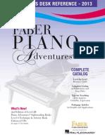 Piano Adventures Catalog