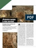 Dénéze-sous-Doué. Cueva de esculturas