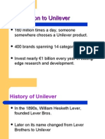 Introduction to Unilever
