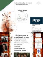 Apresentação AP_DoarVida_Projecto_transplantes