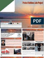 2013 Protect Rathbun Lake Annual Meeting Report