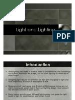 Light and Llighting