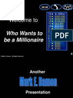 who wants to be millioinaire template