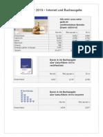 Varta-Führer 2015 - Statistiken und Tipps