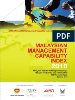 Malaysian Management Capability Index