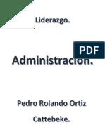 Liderazgo - Pedro Ortiz