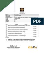 Maj101 Majm Revised Sem 1 Fall 2014 Assignment