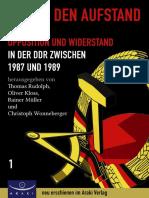 2014 Weg in den Aufstand - Chronik des Widerstandes 1987-1989