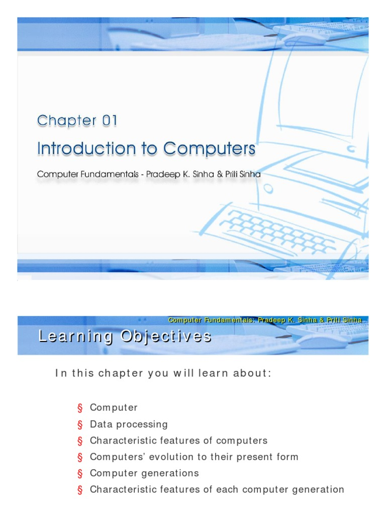 Ebook computer fundamental pk sinha