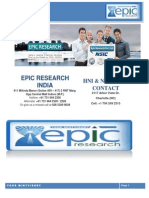 Daily KLSE Malaysia Report by Epic Research Malaysia 9th October 2014