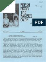Baker Bill Rosa 1982 Mexico