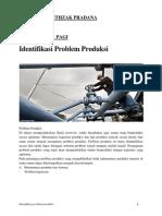 Identifikasi Problem Produksi