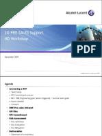 2G KPI - Presales Support