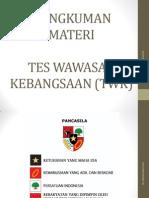 [Ppt] Bahan Materi Tes Wawasan Kebangsaan (Twk) - Revisi II