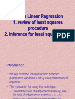 Simple Lin Regress Inference