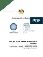 Copenhagen_Malaysian Prime Minsiter