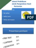 Asistensi PTPHP