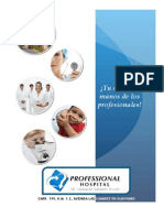Professional Hospital Catalog (Spanish)