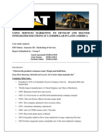 Mkt of Services_CATERPILLAR_Group 5