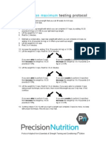 3rm Testing Protocol