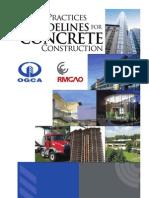 Guide Concrete Construction